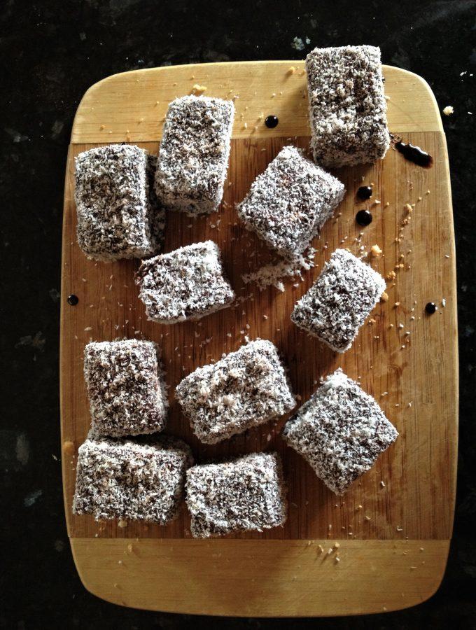 Spongey Gluten Free Lamingtons