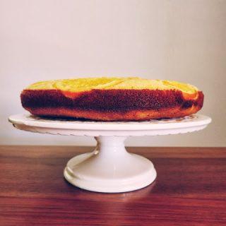 orange polenta cake