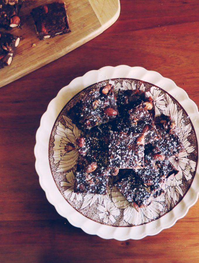 Panforte Brownies