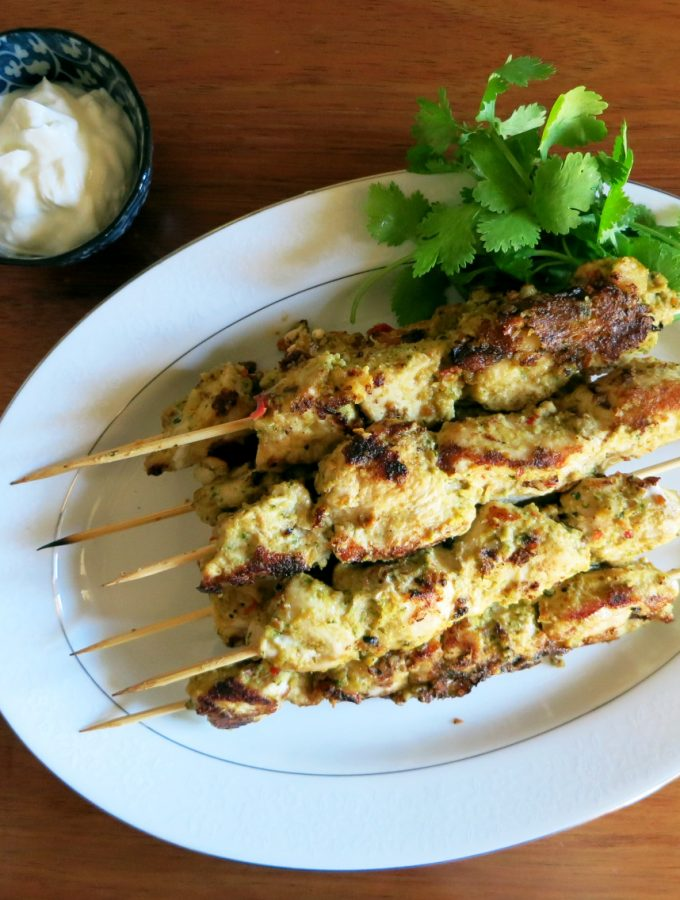 Summer Series | Barbequed Satay Chicken