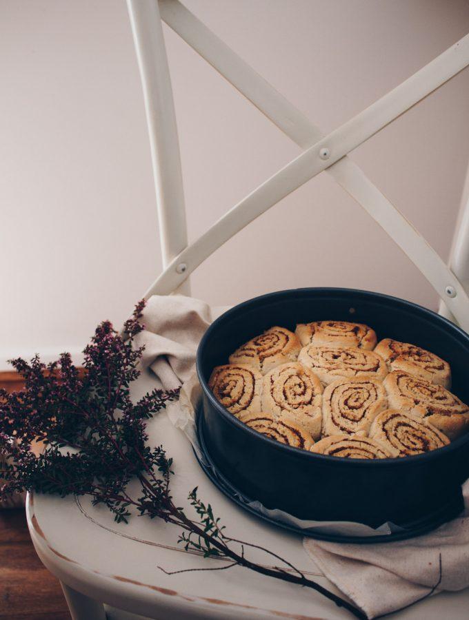 Gluten Free Cinnamon Scrolls