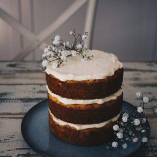 Orange & Poppy Seed Layer Cake