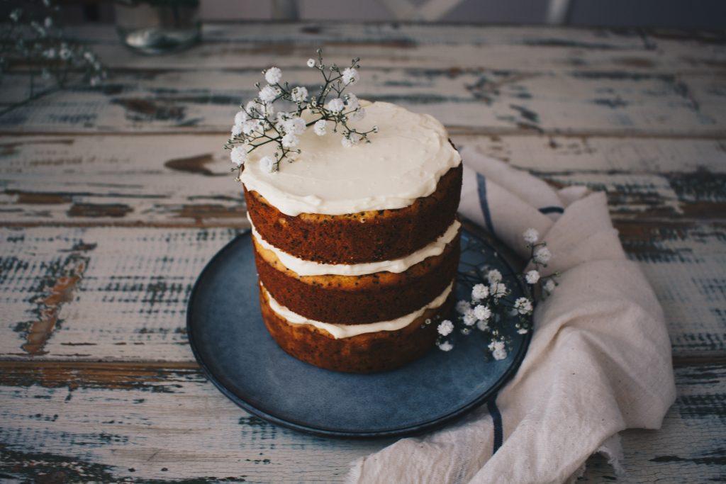 Gluten Free Orange & Poppy Seed Cake