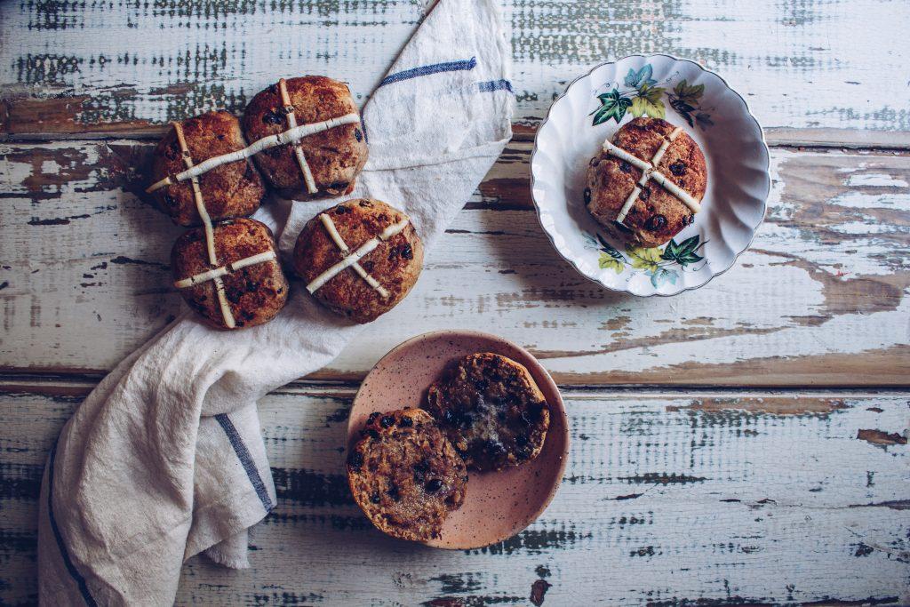 Gluten Free Hot Cross Buns