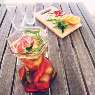 low fodmap pimms cocktail