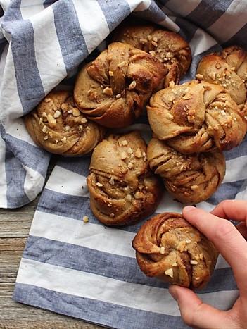 Cinnamon Swirl Cardamom Buns