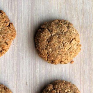 low fodmap Anzac Biscuits