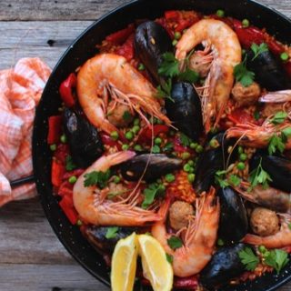 low fodmap paella
