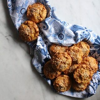 Carrot & Tahini Savoury Muffins