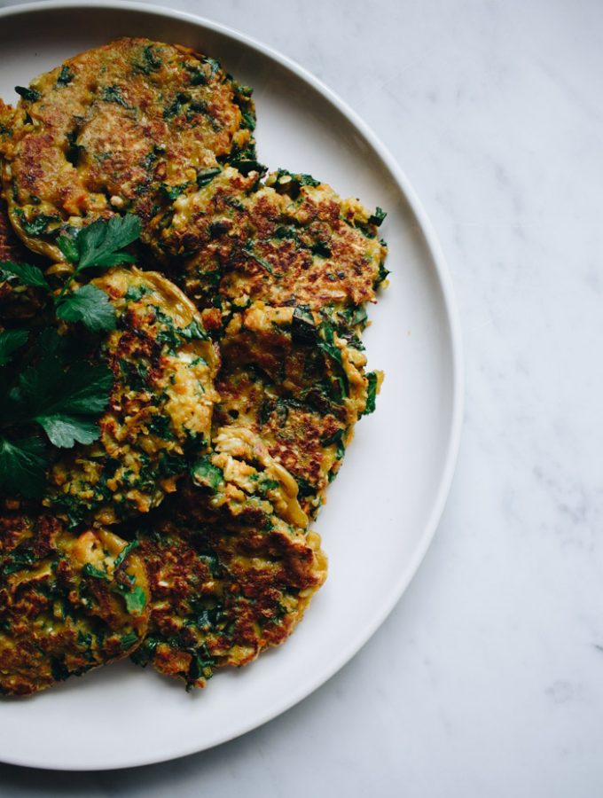Golden Vegetable Fritters