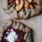 Gluten Free Strawberry & Peach Galettes