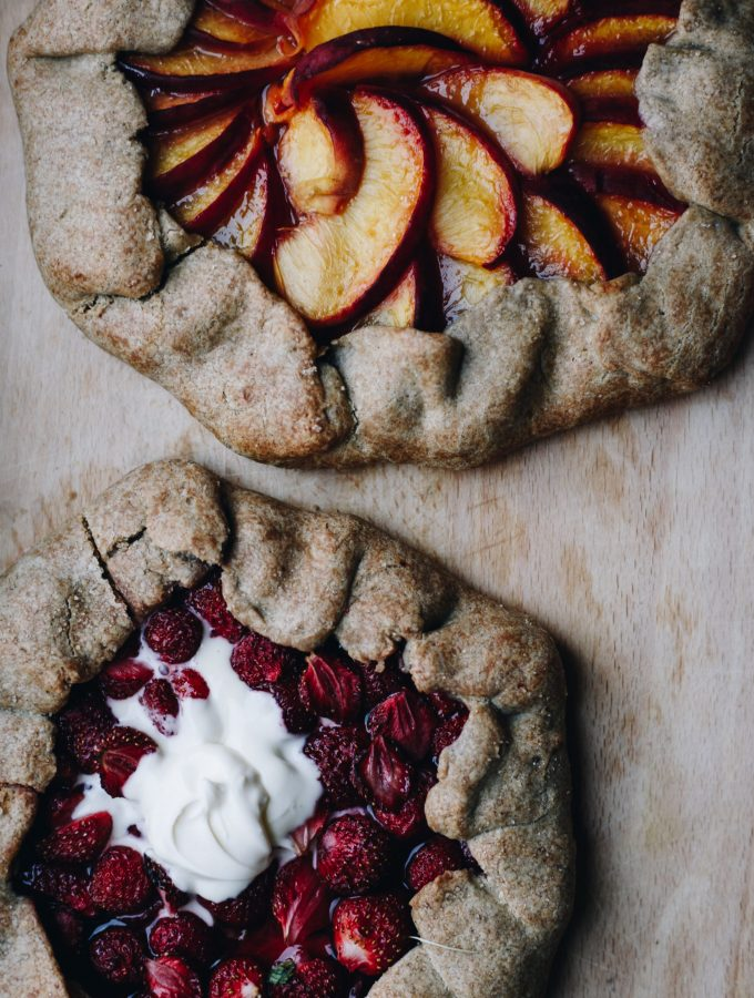 Rustic Galettes with Seasonal Fruit